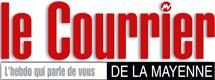 logo courrier de la mayenne
