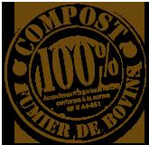 Compost 100% naturel de fumier de bovins
